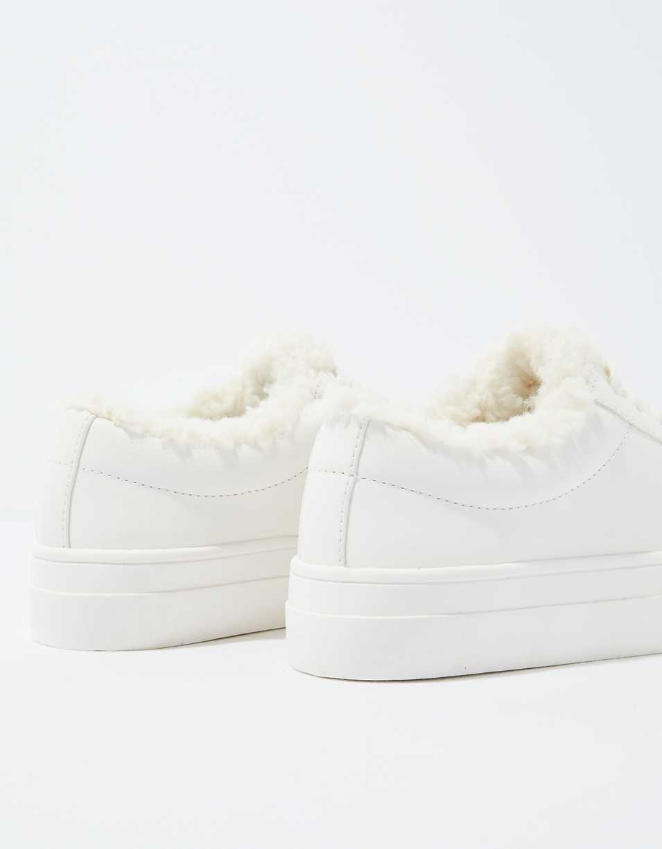 AE Sherpa Lace Up Sneaker