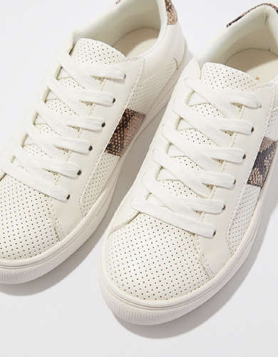 AE Snakeskin Perforated Sneaker