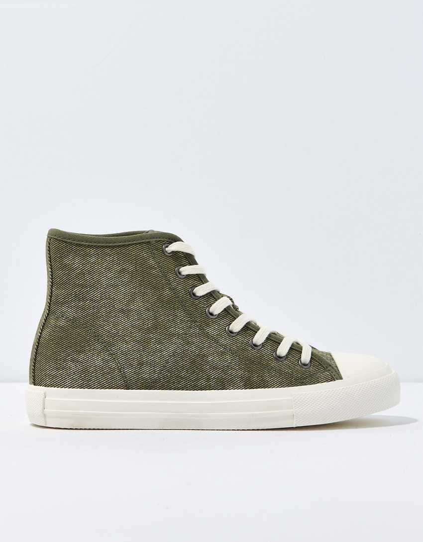 AE Washed High-Top Sneaker