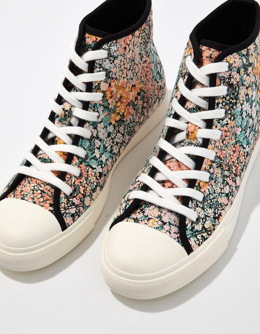 AE Floral High-Top Sneaker
