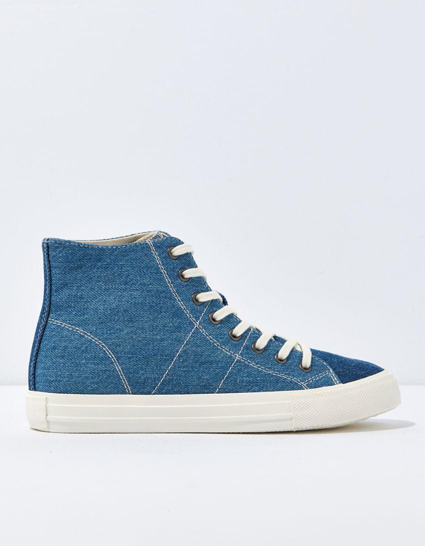 AE Denim High-Top Sneaker