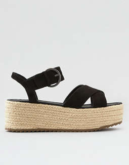 AE X-Band Flatform Wedge Sandal