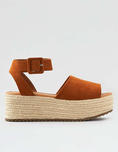f9dbeb21b4b Buckled Wedge Shoes | American Eagle Outfitters