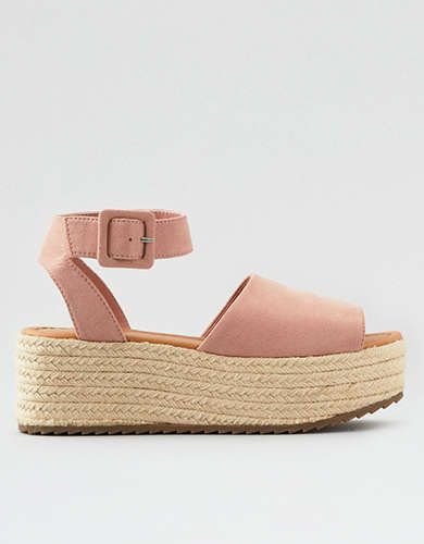 bed949dcf57 Buckled Wedge Shoes | American Eagle Outfitters