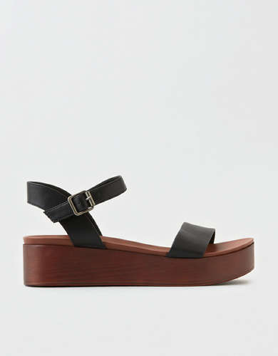 AEO Double Strap Platform Wedge