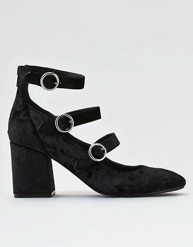 AEO Triple Buckle Heel          -