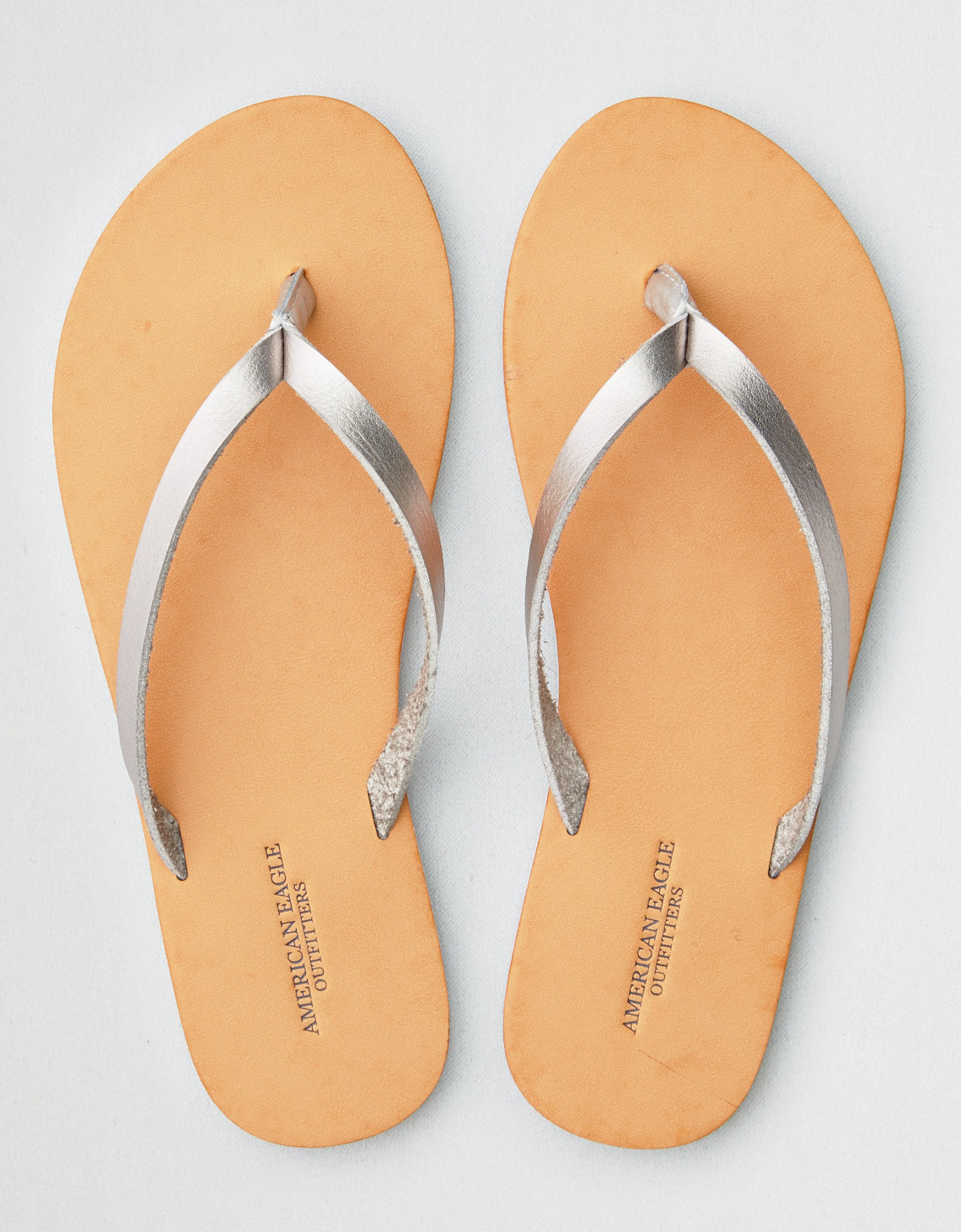 outlet websites AEO Frayed Leather Edge Flip Flop free shipping 100% authentic buy cheap best wholesale buy cheap great deals l9dNgP
