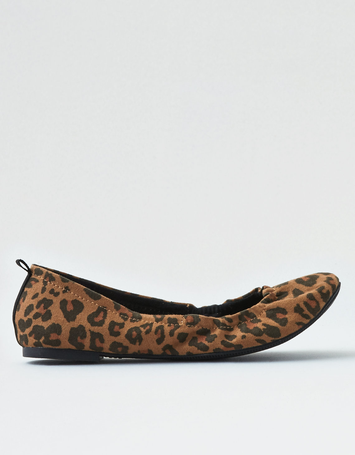 cf96b8431748 AEO Leopard Print Flats. Placeholder image. Product Image