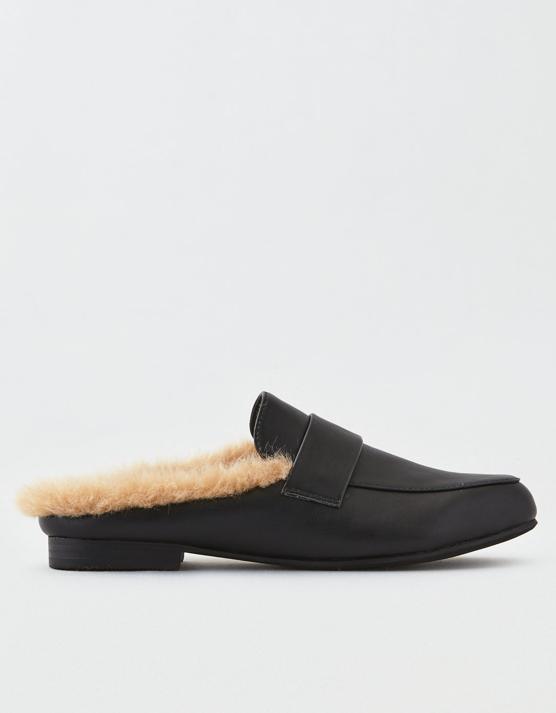 9e9e61563d5 AEO Fur Lined Loafer Mule. Placeholder image. Product Image