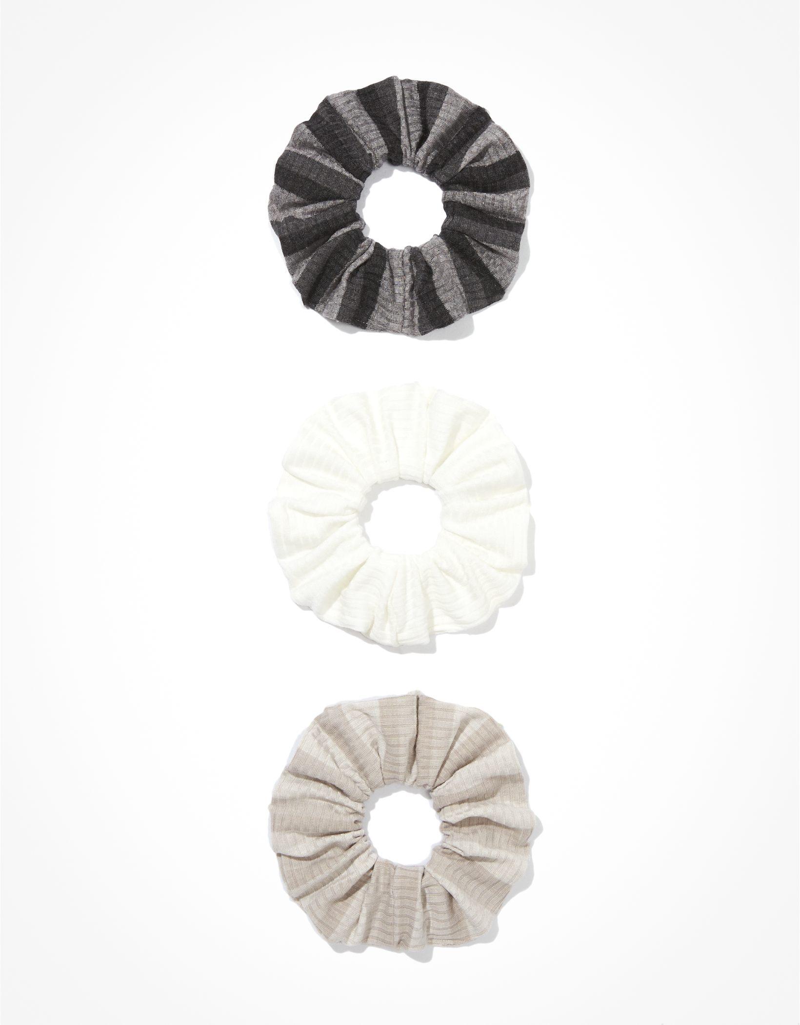 AEO Striped Scrunchies 3-Pack