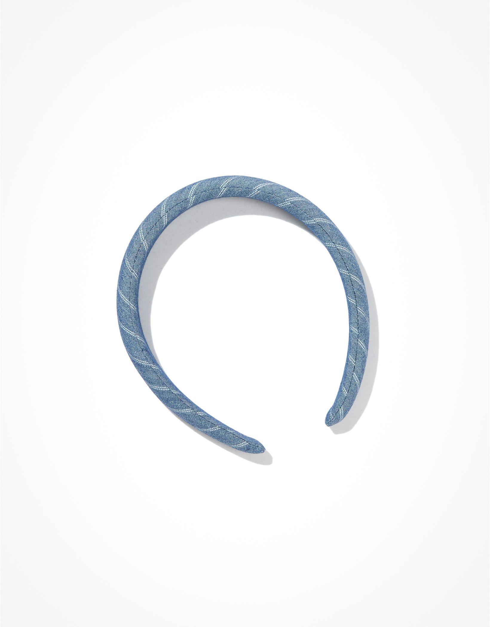 AEO Chambray Puffer Headband
