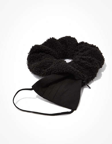 AEO Pocket Scrunchie & Mask