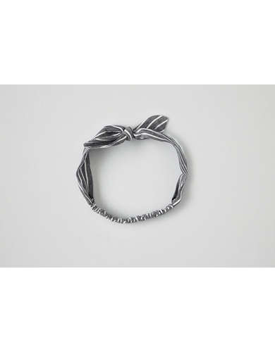 AEO Striped Bow Headband  -