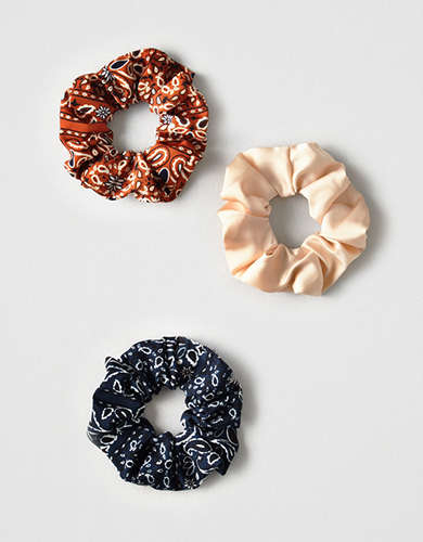 AEO Bandana Scrunchie 3-Pack -