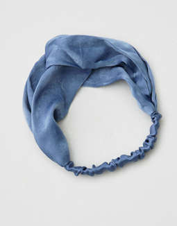 AEO Blue Soft Headband