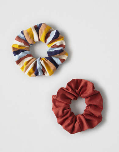 AEO Striped Scrunchie 2-Pack  -