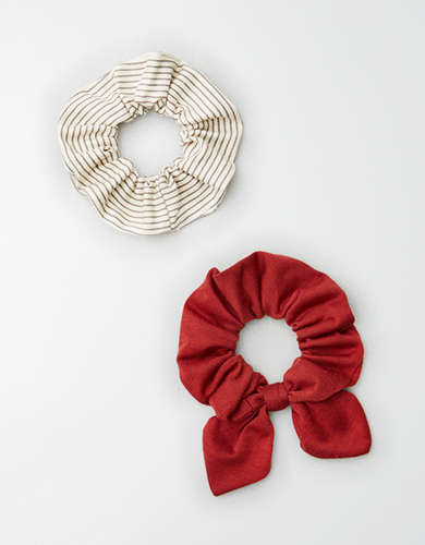 AE Stripe Scrunchie 2-Pack -