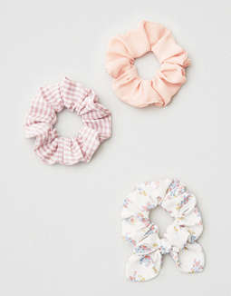 Ae Scrunchie 3 Pack by American Eagle Outfitters