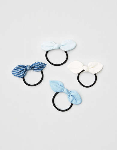 AEO Bow Hair Ties 4-Pack -