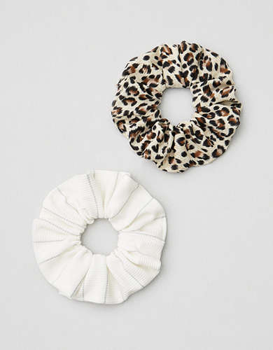 AEO Leopard Scrunchies 2-Pack -