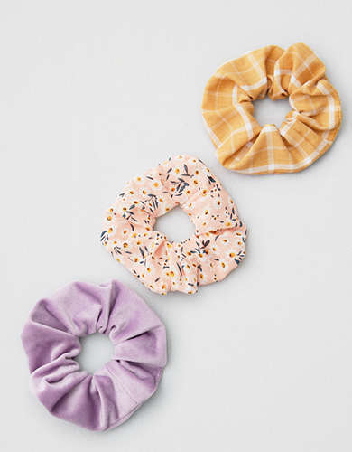 AEO Floral Scrunchie 3-Pack -