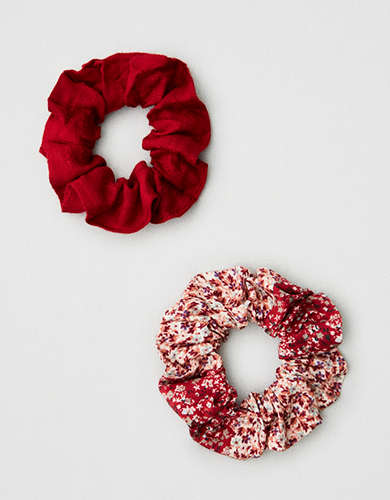 AEO Ditsy Scrunchies 2-Pack