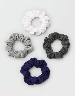 AEO Knit Scrunchie 4-Pack
