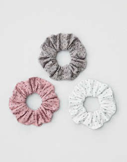 AE Dot Scrunchies 3-Pack