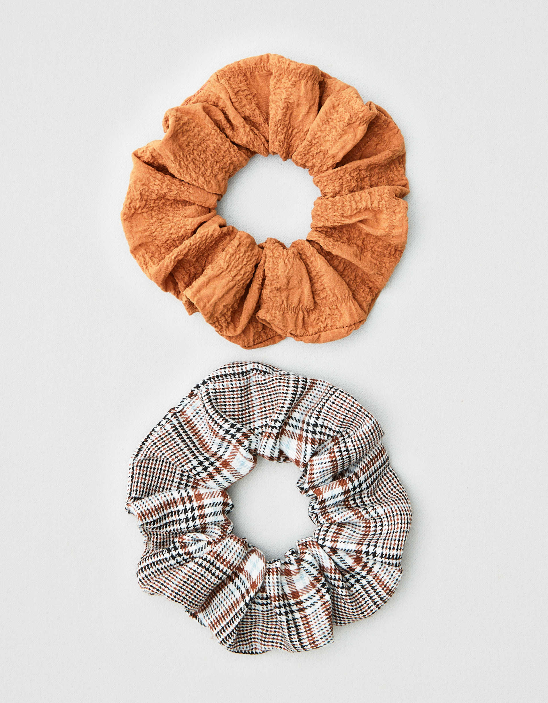 AEO Plaid Scrunchies 2-Pack