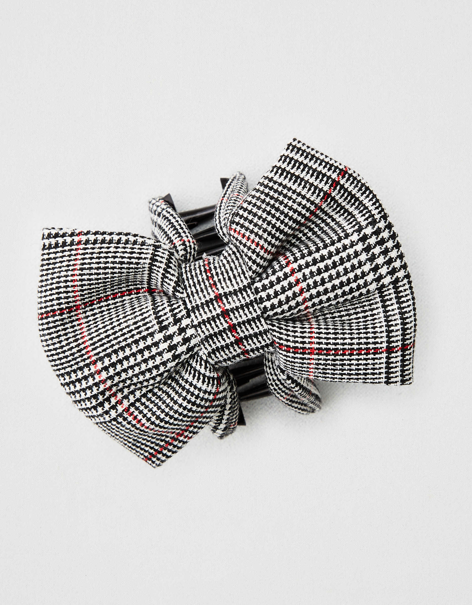AEO Plaid Bow Clip