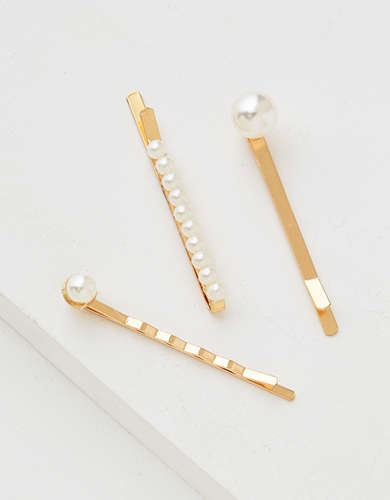 AEO Pearl Bobby Pin 5-Pack