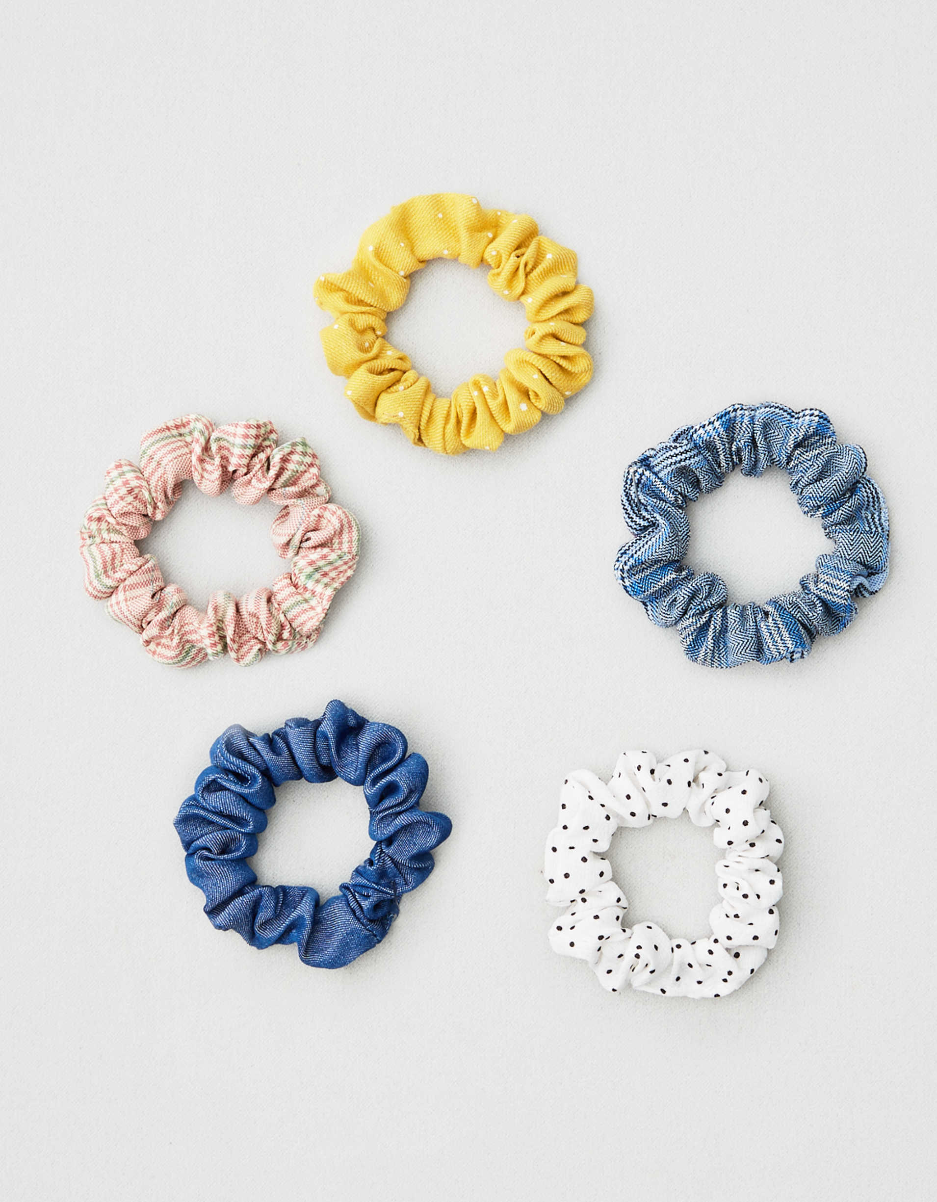 AEO Mini Scrunchies 5-Pack