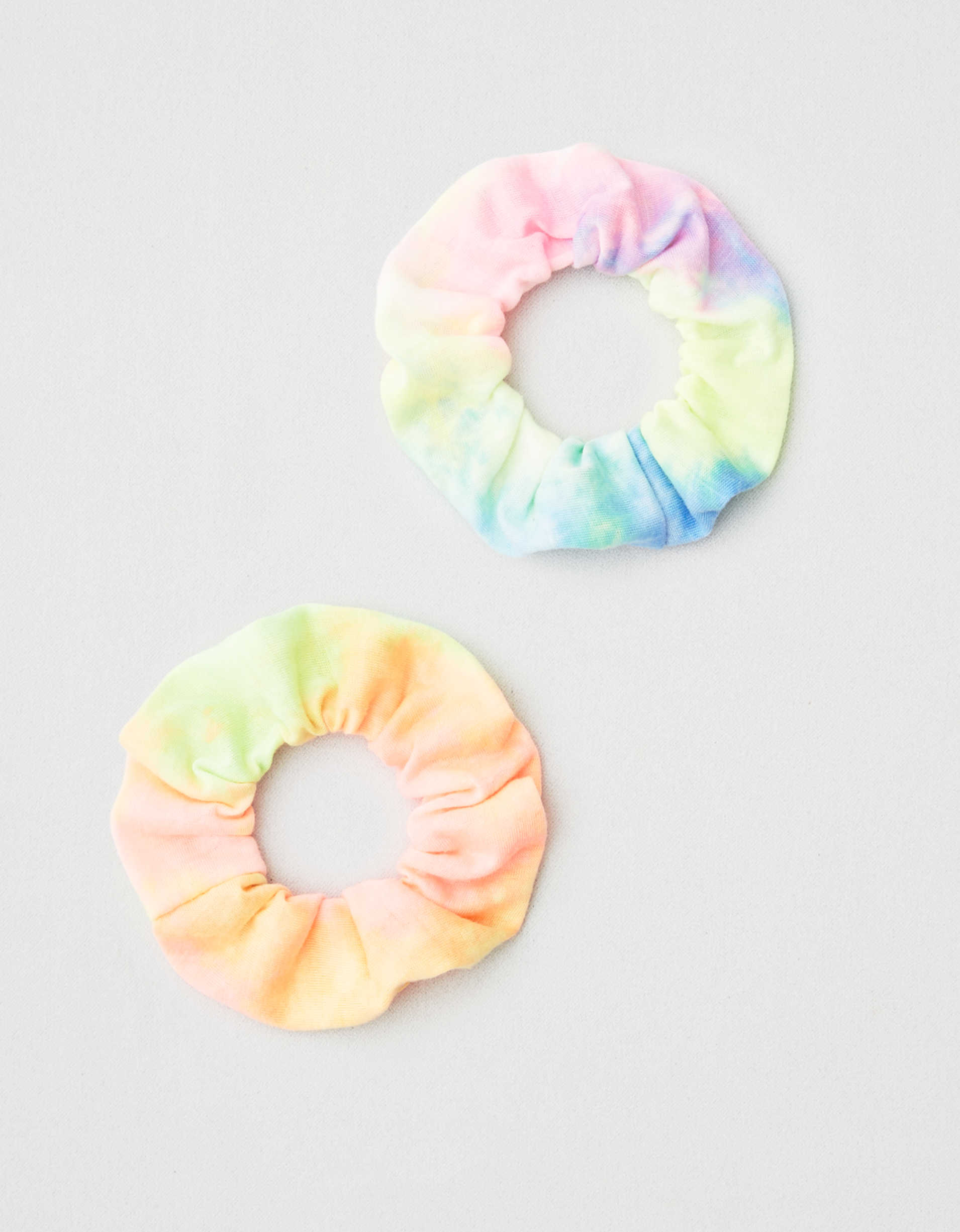 AEO Large Tie Dye Scrunchies 2-Pack