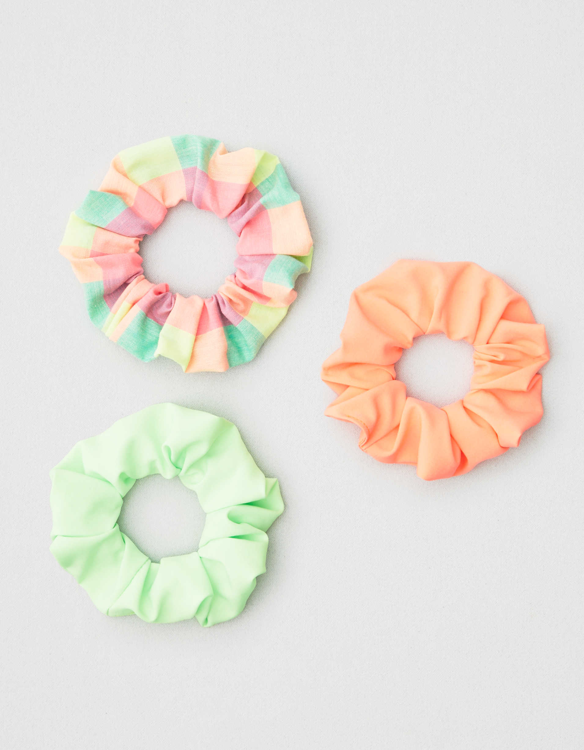 AEO Neon Scrunchies 3-Pack