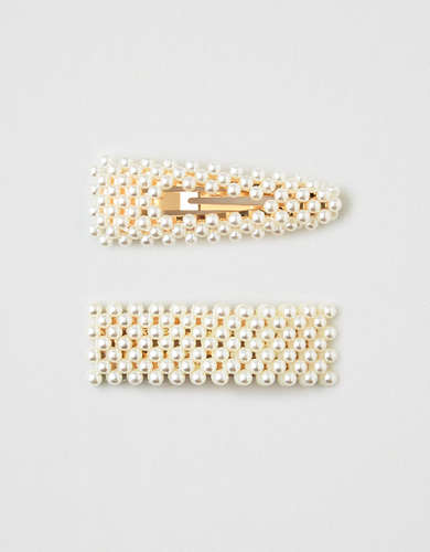 AEO Pearl Clips 2-Pack
