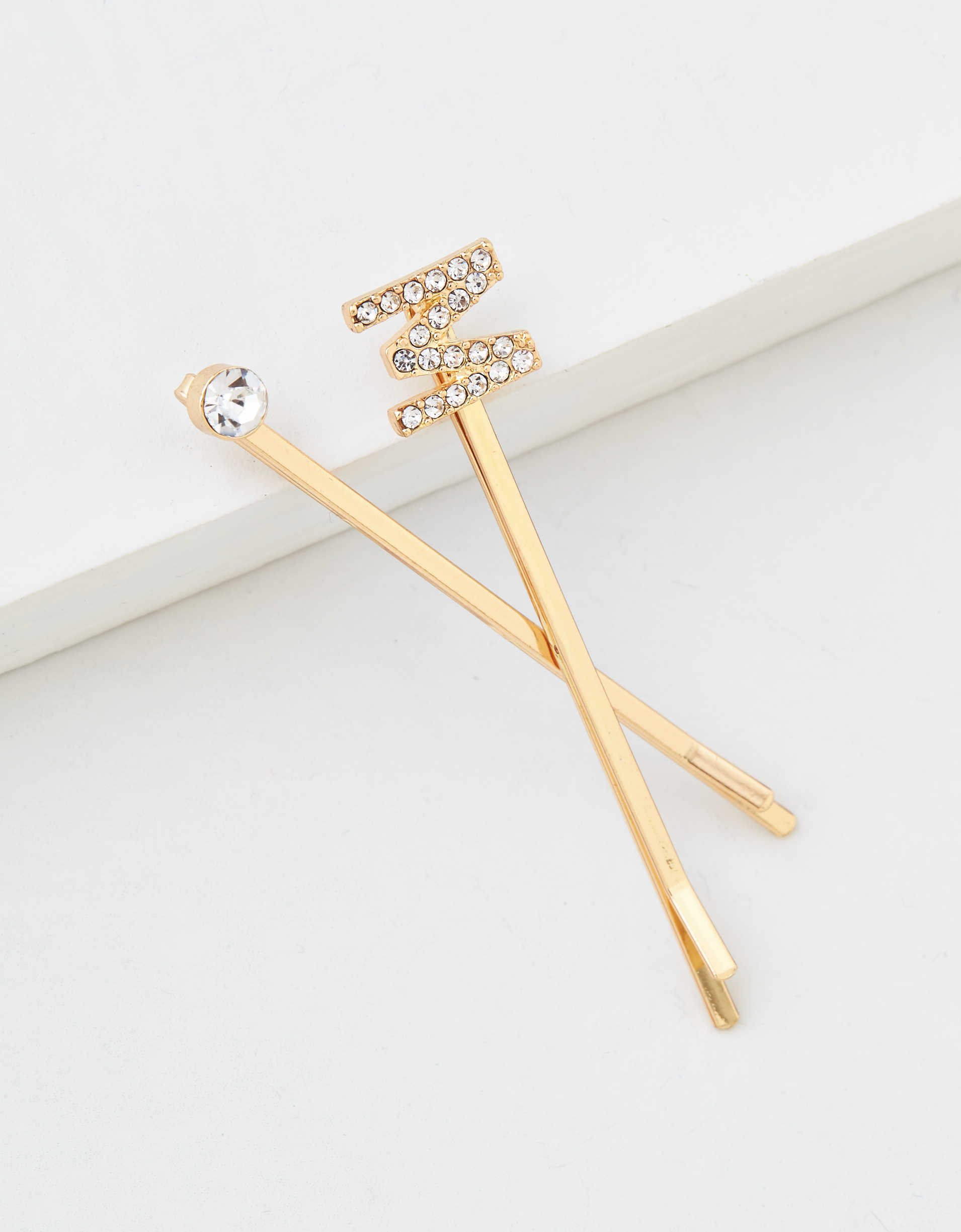 AEO M Crystal Bobby Pins 2-Pack