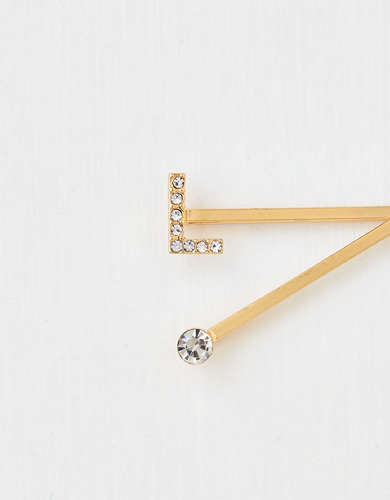 AEO L Crystal Bobby Pins 2-Pack