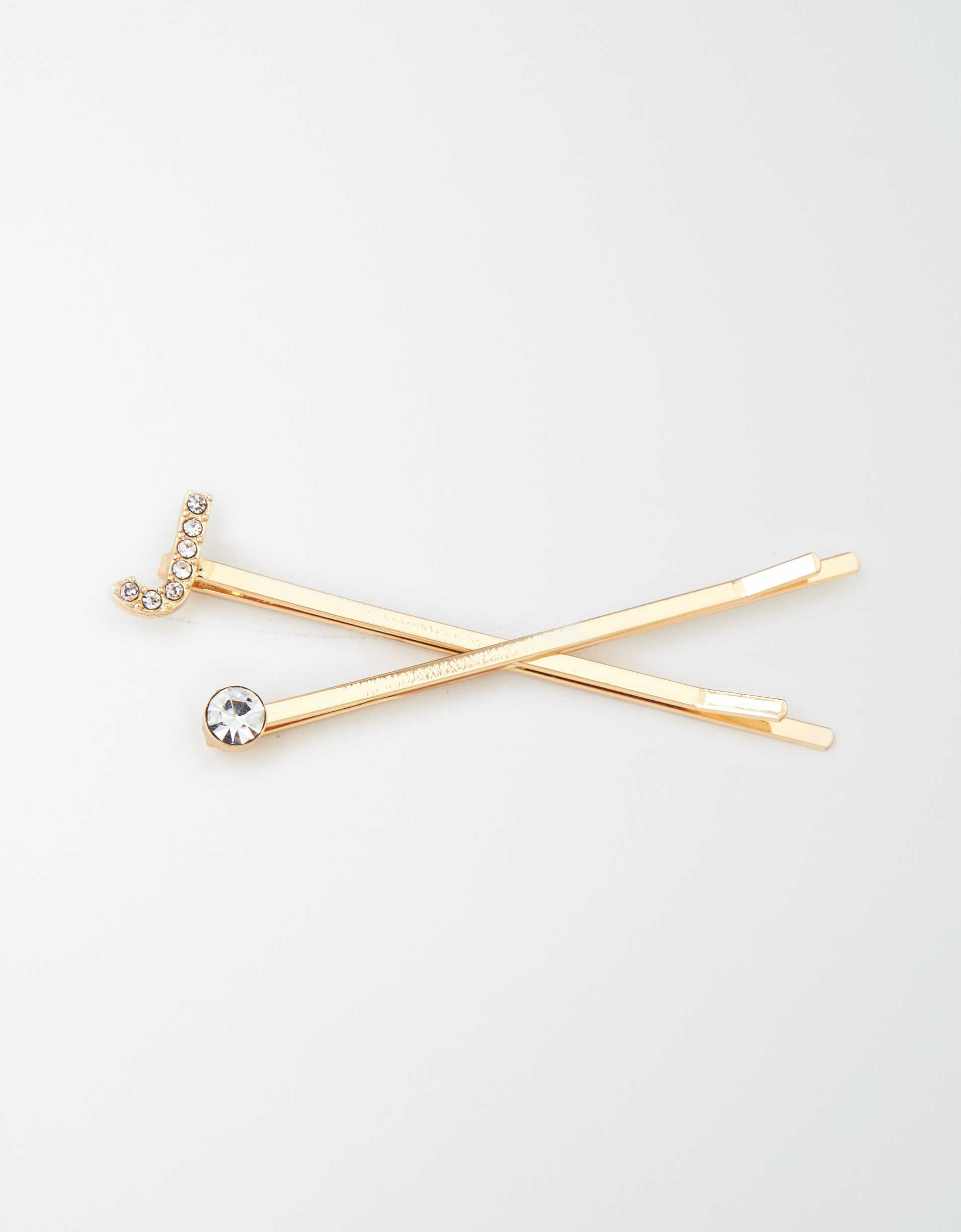 AEO J Crystal Bobby Pins 2-Pack