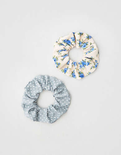 AEO Winter Star Scrunchies 3-Pack