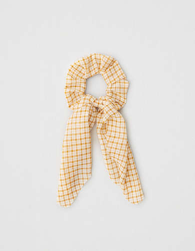 AEO Plaid Scarf Scrunchie