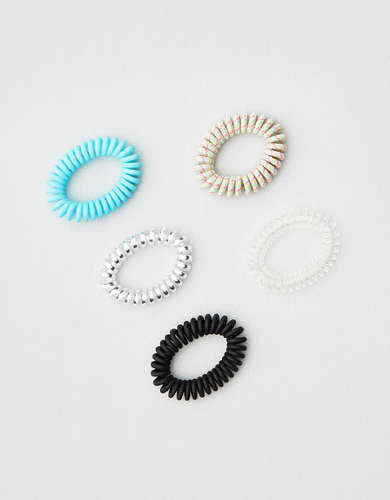 AEO Coil Hair Ties 5-Pack