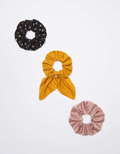 AEO Pleated Bow Scrunchie