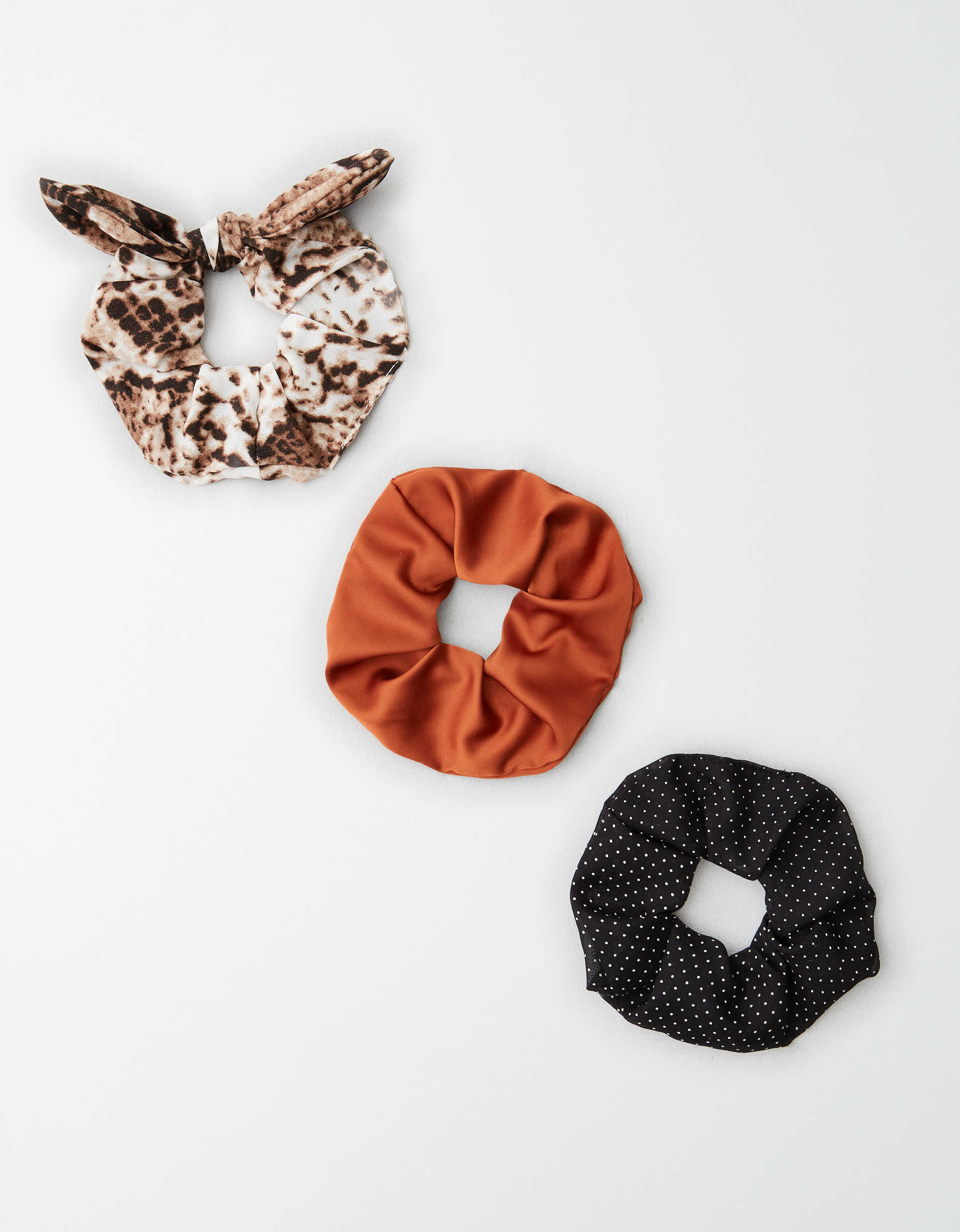 AEO Snake + Dot Scrunchies 3-Pack