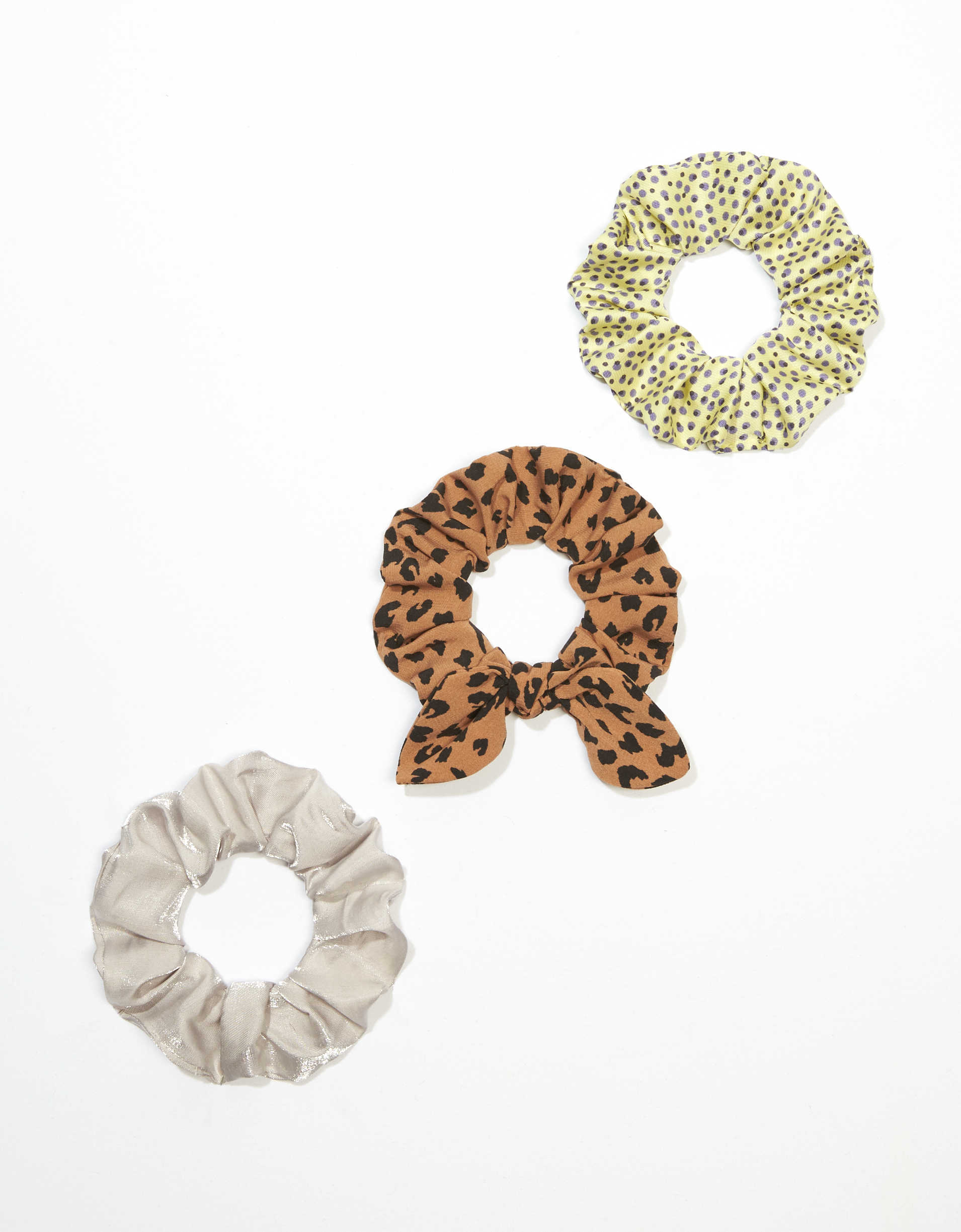 AEO Animal Scrunchies 3-Pack