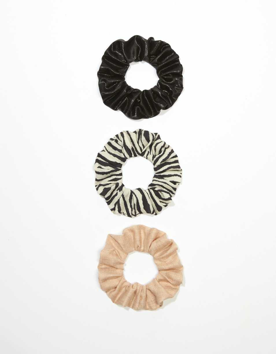 AEO Zebra Scrunchies 3-Pack