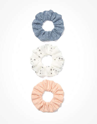 AEO Star Scrunchies 3-Pack