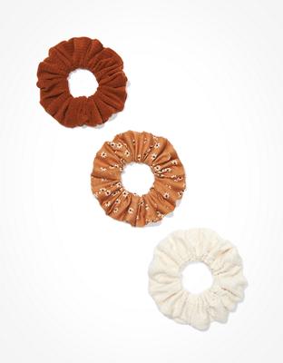 זוג גומיות פרחוני + קטיפה אמריקן איגל אאוטפיטרס