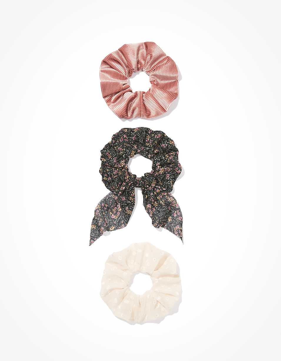 AEO Paisley Bow Scrunchies 3-Pack