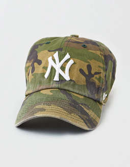 '47 Brand Camo New York Yankees Baseball Cap