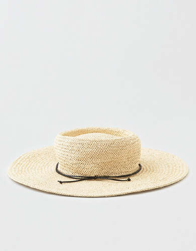 San Diego Hat Co. Flat Brim Boater Hat